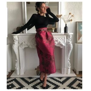 H&M Conscious EXCLUSIVE brocade pattern skirt